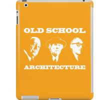Old School Architecture t shirt iPad Case/Skin