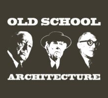 Old School Architecture t shirt by pohcsneb
