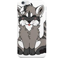 Cute Chibi Raccoon iPhone Case/Skin