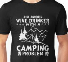 Wine & Camping Unisex T-Shirt