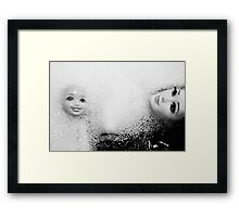 Oh, Doll.  Framed Print