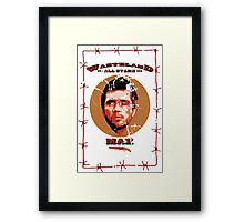 WAS - Max Framed Print