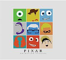 Disney Pixar Characters Photographic Print