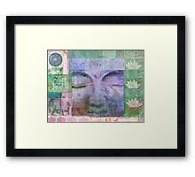 Meditation ZEN BUDDHA Framed Print