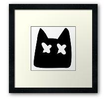 Kawaii Cat  Framed Print