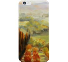 Tuscan Sunrise by Chris Brandley iPhone Case/Skin