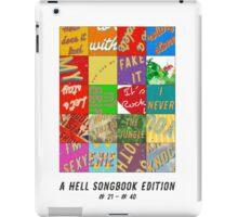 Hell Songbook Edition Complete # 21-40 iPad Case/Skin