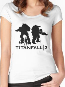 TitanFall 2 Women's Fitted Scoop T-Shirt
