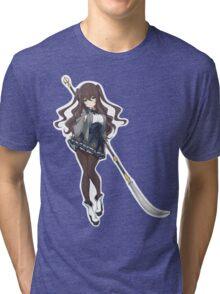 Pretty Anime Spear Warrior Tri-blend T-Shirt