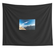 Autumn morning in the alps Wall Tapestry