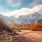 autumn sunrinse in the valley by zakaz86
