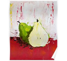 A Pear Behind Poster