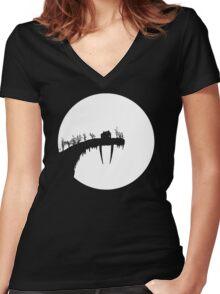 TUSK Women's Fitted V-Neck T-Shirt