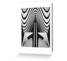 Symmetry Greeting Card