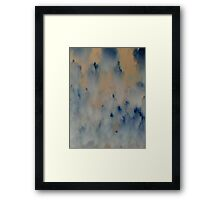FLUFFY CLOUDS (Souls Of Man) Framed Print