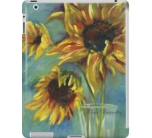 Sunflowers by Chris Brandley iPad Case/Skin