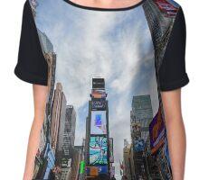 Times Square Chiffon Top