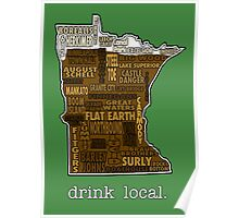 Drink Local (MN) Poster