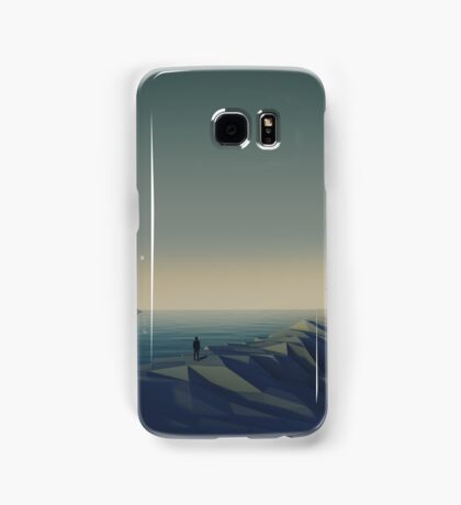 Trapped in low-poly Samsung Galaxy Case/Skin
