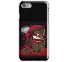 Little Red Werewolf iPhone Case/Skin