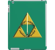 The Geekly Hallows Full Color - The Ultimate Geek T-Shirt iPad Case/Skin