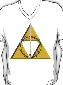 The Geekly Hallows Full Color - The Ultimate Geek T-Shirt T-Shirt