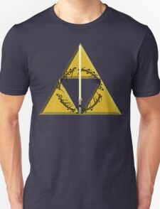 The Geekly Hallows Full Color - The Ultimate Geek T-Shirt Unisex T-Shirt