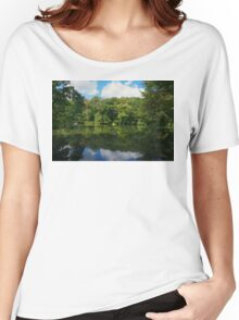 Reflections of Green Women's Relaxed Fit T-Shirt