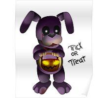 Horror Halloween Bonnie Poster