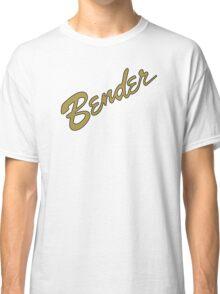 Bender Guitars in GOLD Classic T-Shirt