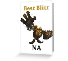 Best Blitzcrank NA Greeting Card