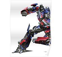 transformers optimus prime Poster