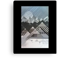 Geometry's Valley Canvas Print