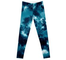 Digitally generated Multicoloured abstract pattern  Leggings