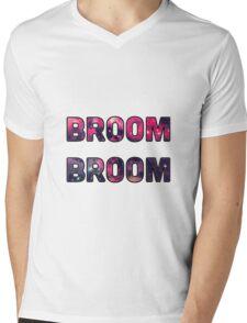 Broom Broom Mens V-Neck T-Shirt
