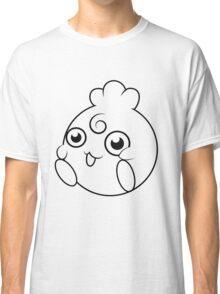 Igglybuff Black and White Design Classic T-Shirt