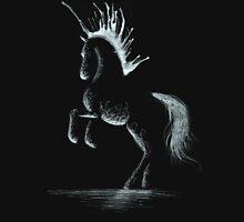 Lightning Rod: Minimal Abstract Horse Unisex T-Shirt