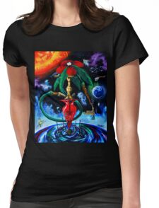 Cosmic hookah Womens Fitted T-Shirt