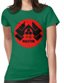 Nakatomi Tower McClane Womens Fitted T-Shirt