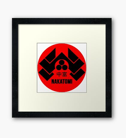 Nakatomi Tower McClane Framed Print