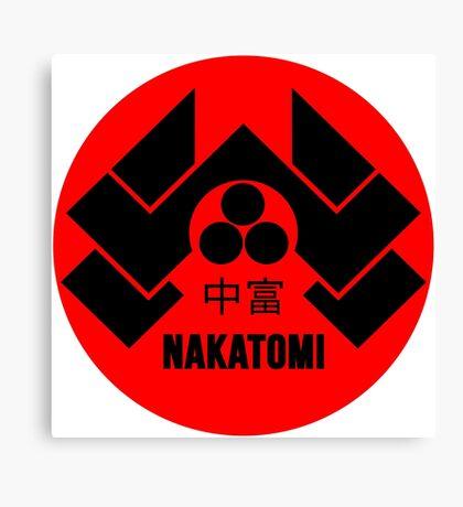 Nakatomi Tower McClane Canvas Print