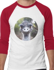 The Judging Emu - Comical Animals - Australia Men's Baseball ¾ T-Shirt