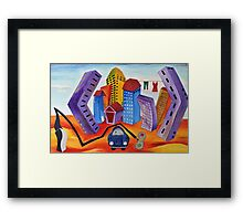 Don't Forget the Wash Framed Print