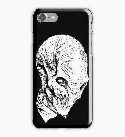 The Silence(whiteline)  iPhone Case/Skin