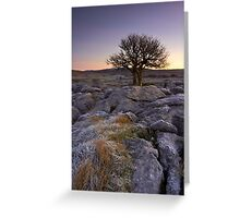 Frosty Start Greeting Card