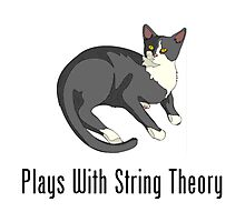 Plays With String Theory Photographic Print