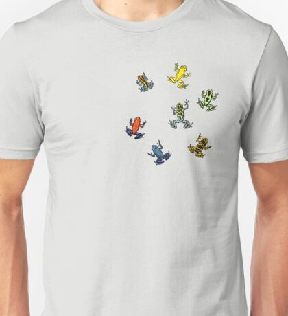 Dendrobates frog pattern Unisex T-Shirt
