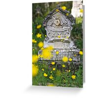 """""""Katie""""  Memorial to a Child Greeting Card"""