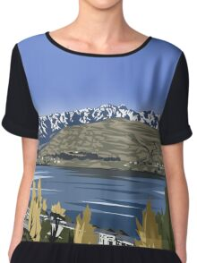 The Remarkable Queenstown Chiffon Top