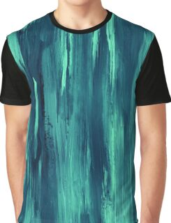 Abstract painting with turquise, green, blue color Graphic T-Shirt